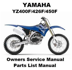 2007 yz450f owners manual yz400f/426f/450f/450fx thumpertalk.