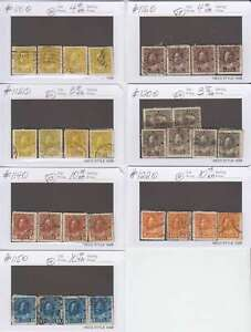 A7143-Canada-Admirals-Used-Stamps-Lot-CV