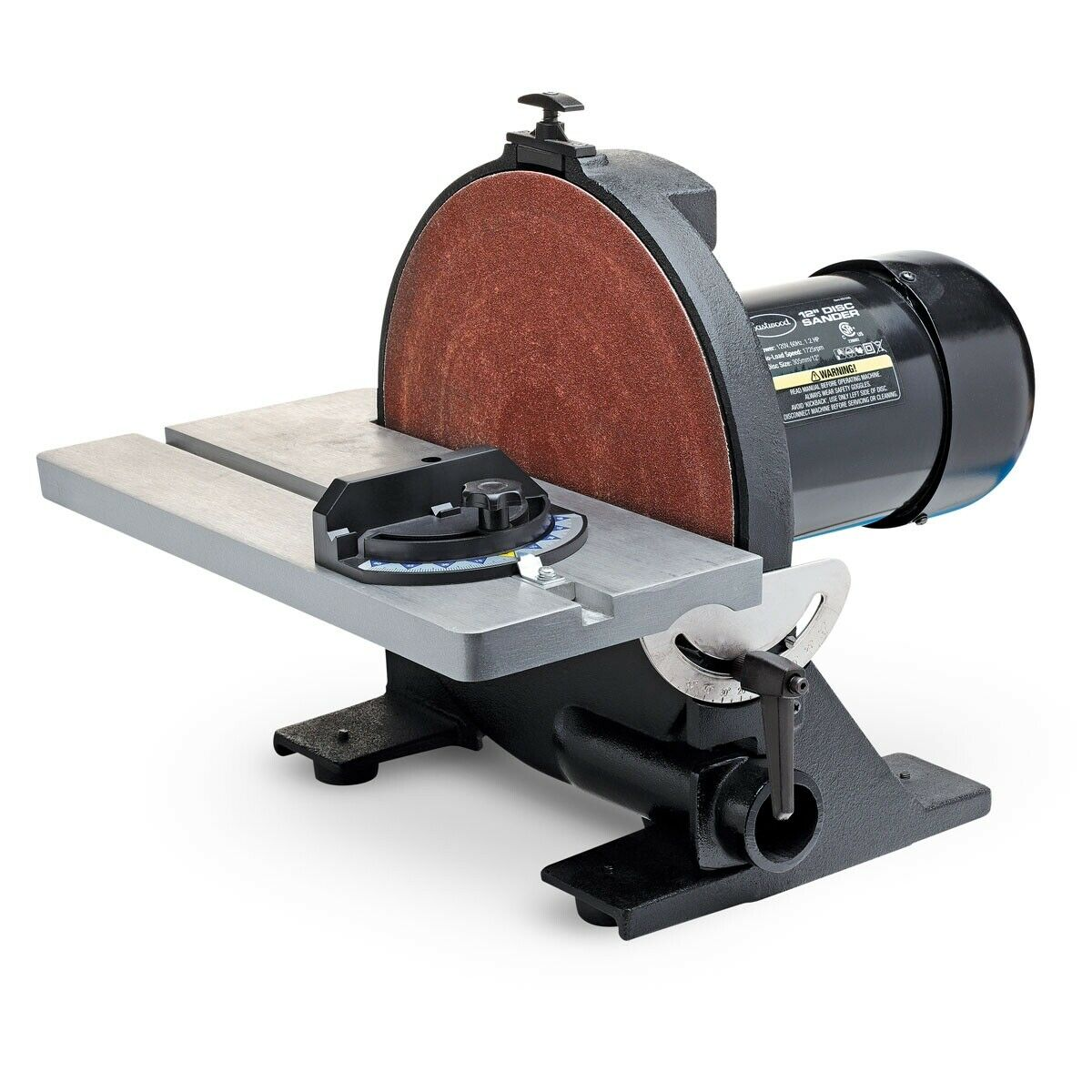 Eastwood 12 inch Heavy Duty Disc Sander Vibration Free with Miter Gauge. Buy it now for 293.99