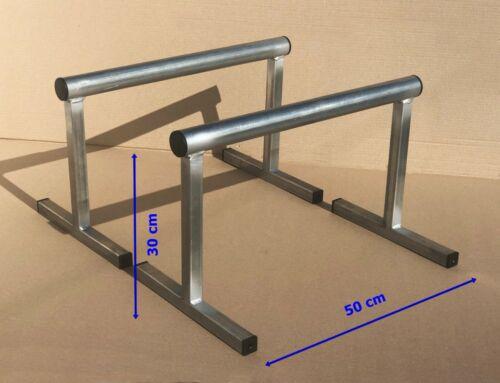 Crossfit Calith Up H 30 cm Barre Parallele  Push Parallettes dim 40 mm