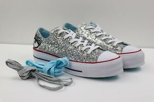 converse grises mujer plataforma