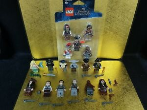 Genuine Lego Minifigures Pirates Of The Caribbean Lot Davy Jones