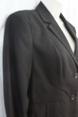 bottoni Giacca giacca toppa a a con piegati da nera lavoro nYqrxvYUS