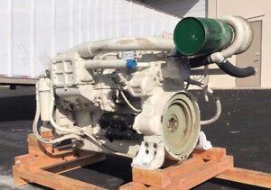 Details about Detroit Diesel / Johnson & Towers 6-71 TIB, Marine Diesel  Engine, 485HP