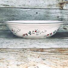 Red Vanilla Whisper White Oval Serving Bowl For Sale Online Ebay