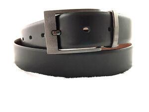 fe403f340050 Image is loading Tasso-Elba-32mm-Feather-Edge-Reversible-Dress-Belt-