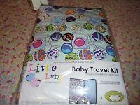 Nip Little Lumps Baby Travel Kit Changing Mat Bottle Carrier Case Suckers