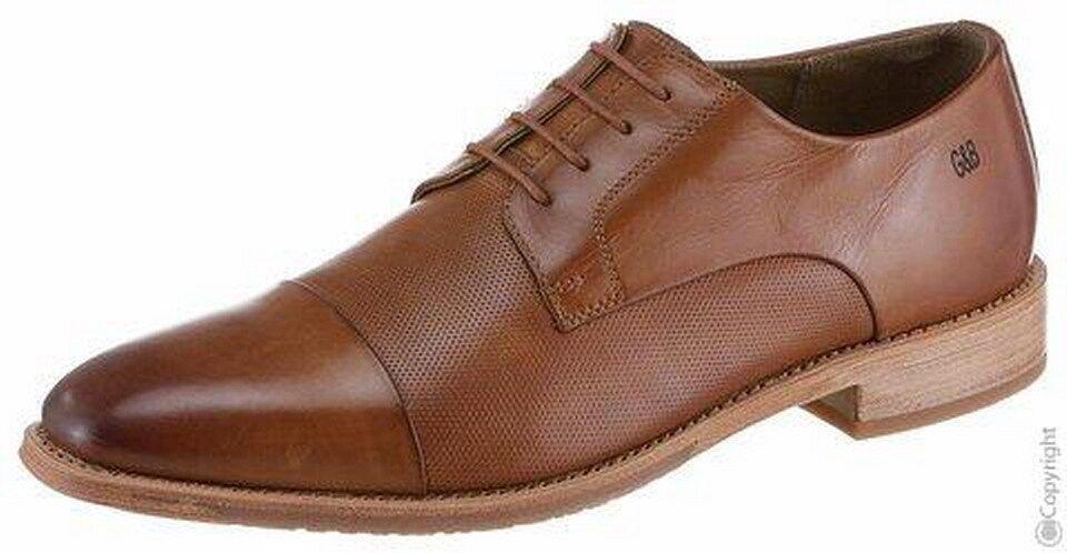 Nuevo Gordon & Bros lorenzo Business zapatos para caballeros marrón nuevo