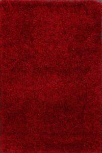 Soft-Plush-Contemporary-Red-Modern-4x6-ft-Shaggy-Shag-Oriental-Area-Rug-Carpet