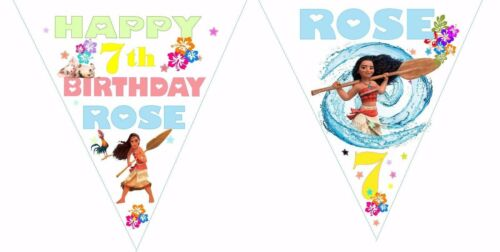 Moana Party Invitations//invite Ou Thank You notes X20//sans enveloppes Bunting