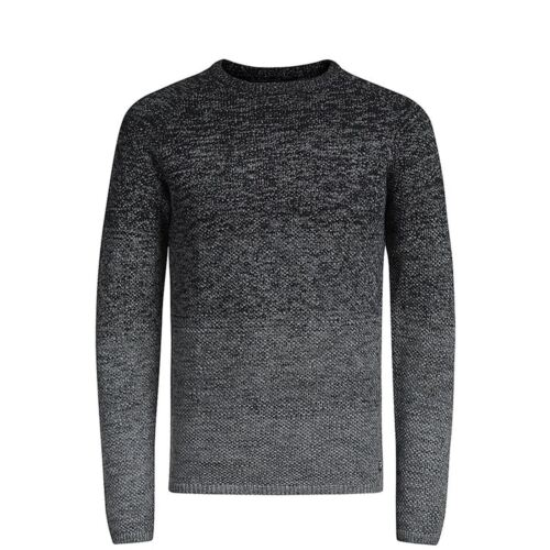 Mens Jumper JACK /& JONES Fuel Knitted Crew Neck Pullover Sweater