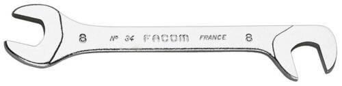 FACOM 34.7 OFFSET OPEN END MIDGET SPANNER WRENCH 7mm Ends at 15 /& 75 degrees