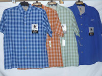 Bass Mens Explorer Series Short Sleeve Shirts Sunblocker Moisture Wicking