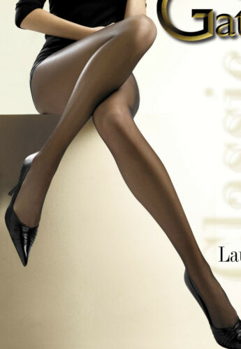 "Sheer Matt Available Size XS-XL Classic Tights Gatta /""LAURA/"" 15 Denier"
