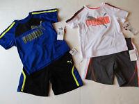 Puma Baby Boy's 2 Piece Athletic Set Shorts & Shirt Top Toddler's 2t $42