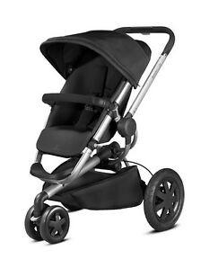 Quinny Buzz Xtra Rocking Black Standard Single Seat Stroller