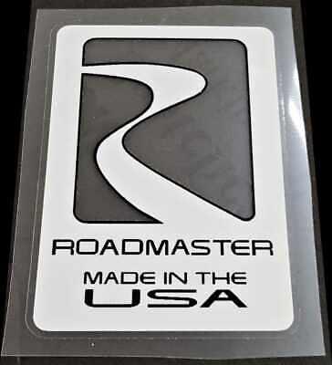 Roadmaster Made In USA Decal sku Road901