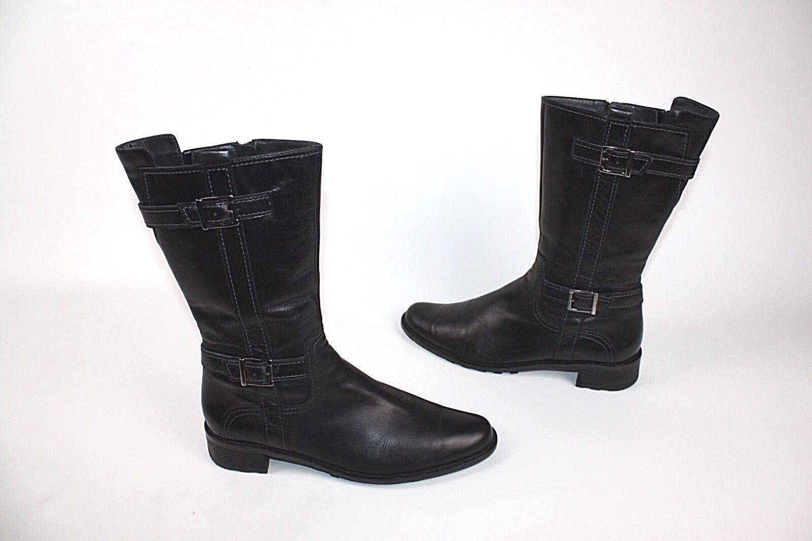 Zapatos especiales con descuento PAUL GREEN ! DAMENSTIEFEL STIEFELETTEN SCHWARZ 6 1/2 ECHTLEDER  #24911 07#