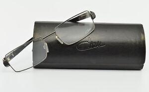 CAZAL-Brille-Mod-723-Col-893-Deluxe-Eye-Frame-Lunettes-Schwarz-Case-NOS