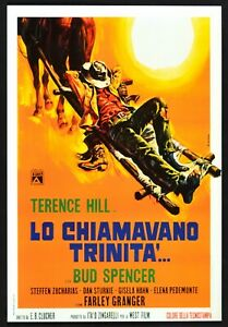 Plakat Lo Genannte Trinity 'Terence Hill Bud Spencer Poster Kino Film PP3