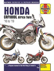 Haynes-Manual-6434-Honda-CRF1000L-Africa-Twin-16-19-workshop-service