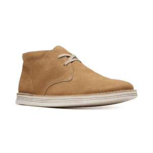 Clarks-Men-039-s-Forge-Stride-Chukka-Boots-Dark-Sand