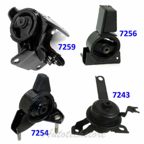 Engine Trans Motor Mount AT 98-02 For Corolla 1.8L 7243 7254 7256 7259 M304