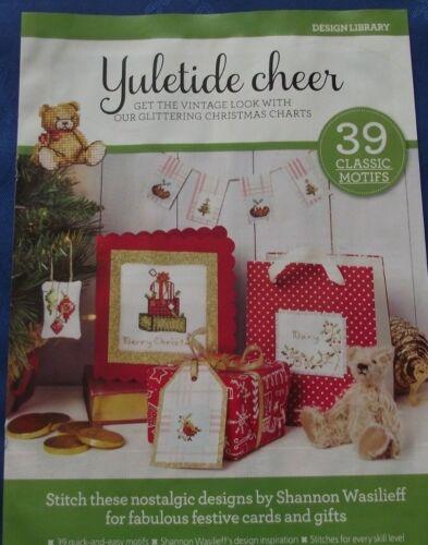 Bibliothèque de conception Yuletide Cheer 39 Scintillant Noël motifs cross stitch chart