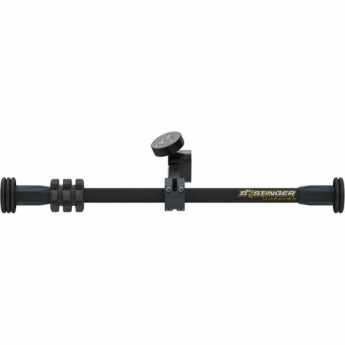 B-Stinger MicroHex Counter Slide Stabilizer Dovetail Matte Black 12 in.