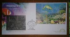 Royal Selangor Premier Pewter Stamp FDC - 2001 Marine Life Sea Creatures Dugong