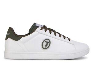 Scarpe da uomo Trussardi Jeans 00274 sneakers casual sportive bianco pelle basse