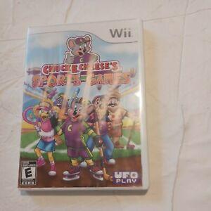 Chuck E. Cheese's Sports Games Wii COMPLETE_Kart Racing bowling mini-golf Tennis