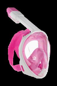 pink inkl Netz L/XL Schnorchelmaske Fullface