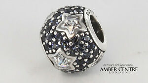 e96858789 Image is loading Genuine-Pandora-Silver-Charm-S925-ALE-Midnight-Blue-
