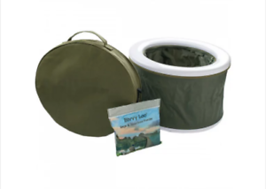 Carplife Bivvy Loo NEW Carp Fishing Portable Toilet And Biodegradable Bags