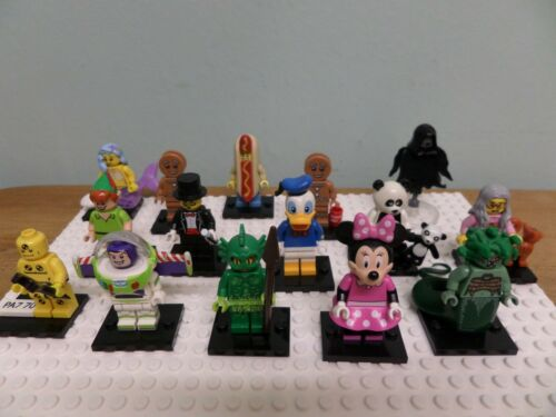 genuine lego collectible minifigures series new figs added daily !!!! disney