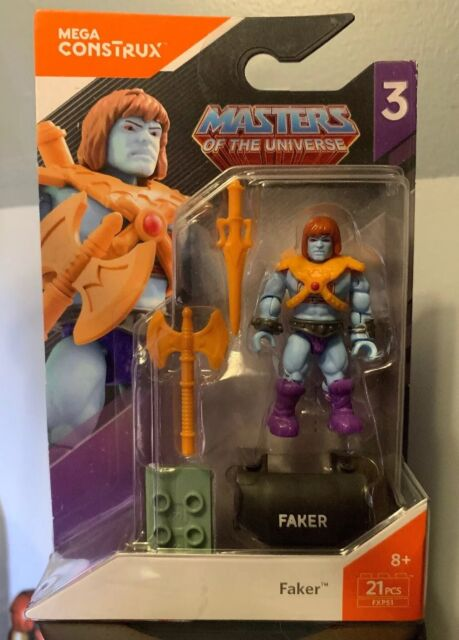 Mega CONSTRUX héros Faker Masters of the Universe Mini Figure masters of the Universe série 3