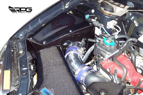 RPG Kansai Style Carbon Cold Air Intake Box for Subaru Impreza WRX STi GDA GDB