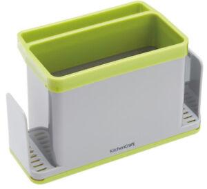 Kitchen-Craft-4-En-1-evier-vaisselle-vers-le-haut-tissu-gants-bouteille-amp