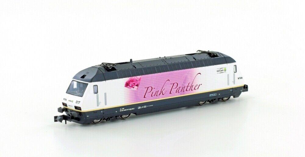 Kato K137122 Electric Locomotive BLS Re465 Pink Panther Ep.iv-v