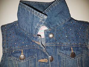 Jeans-Weste-mit-Glitzer