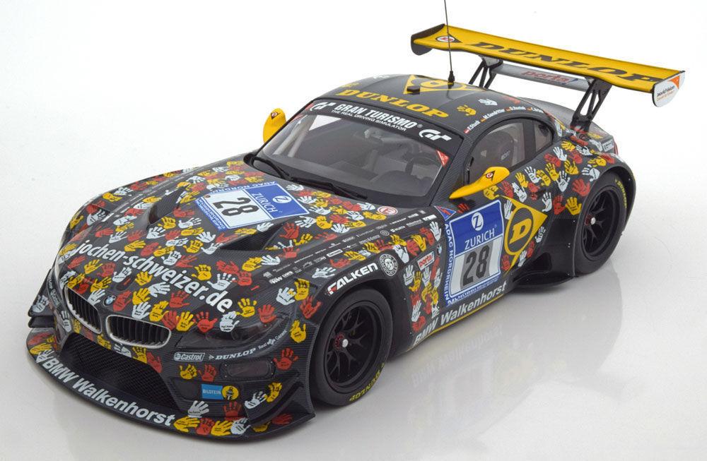 Minichamps 2014 BMW Z4 E89 GT3 24 H Nurburgring  28 1 18New   belle Voiture