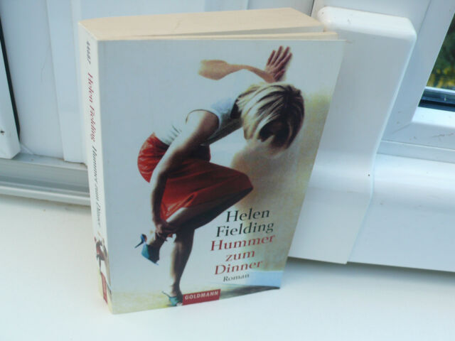 BUCH HUMMER ZUM DINNER HELEN FIELDING FRAUENROMAN TASCHENBUCH  BOOK TB !!!!!