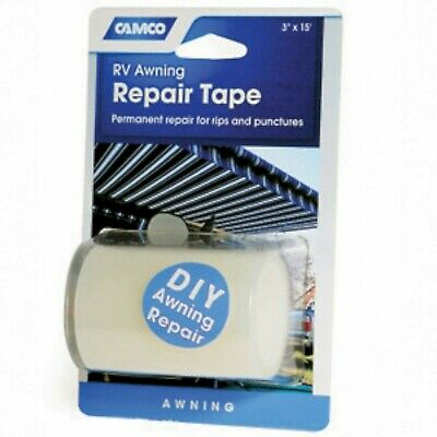 """Camco 42613 3"""" x 15' Awning Repair Tape 3 Inches 