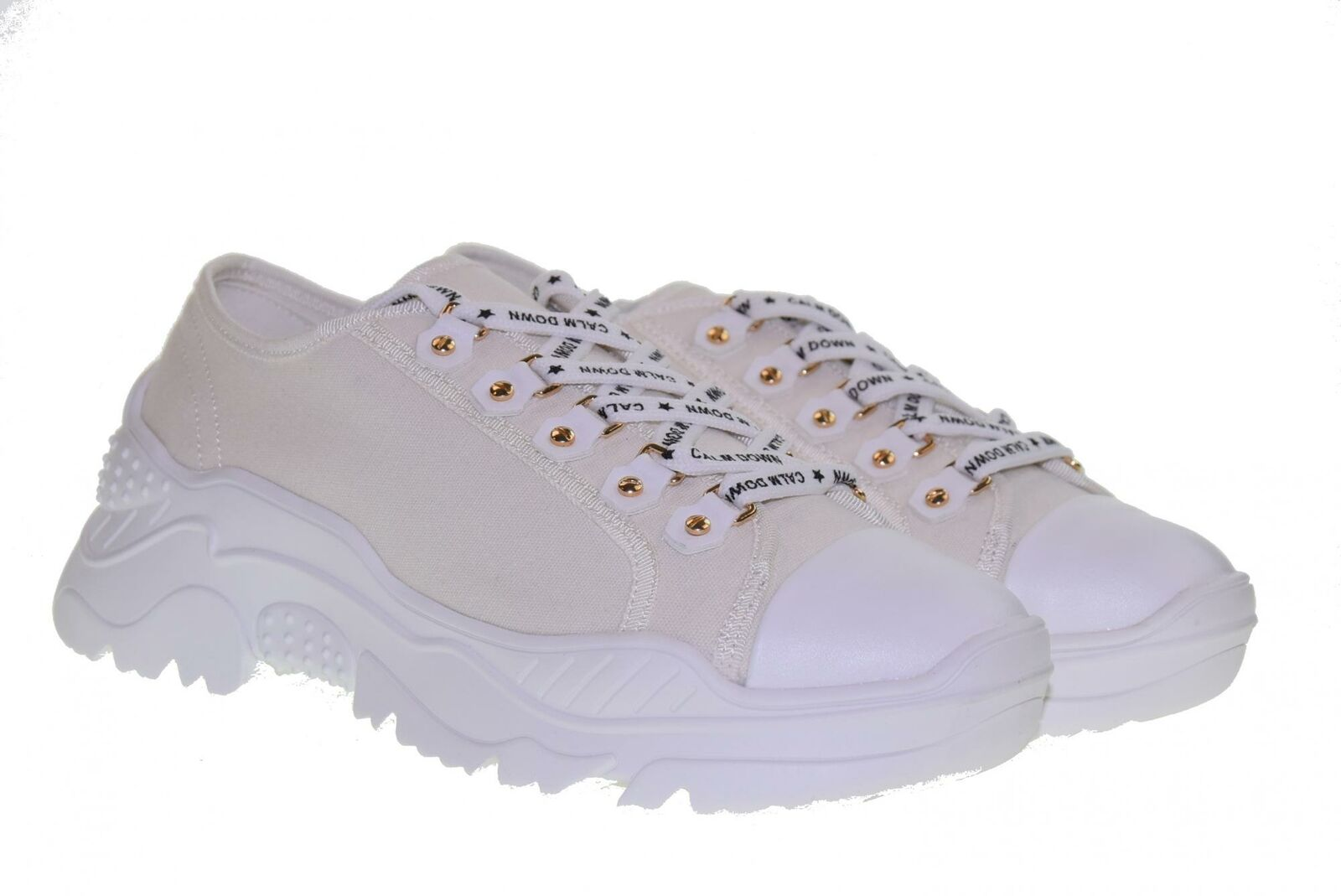 gold&gold P19s shoes women zapatillas bajas GT728 whiteO