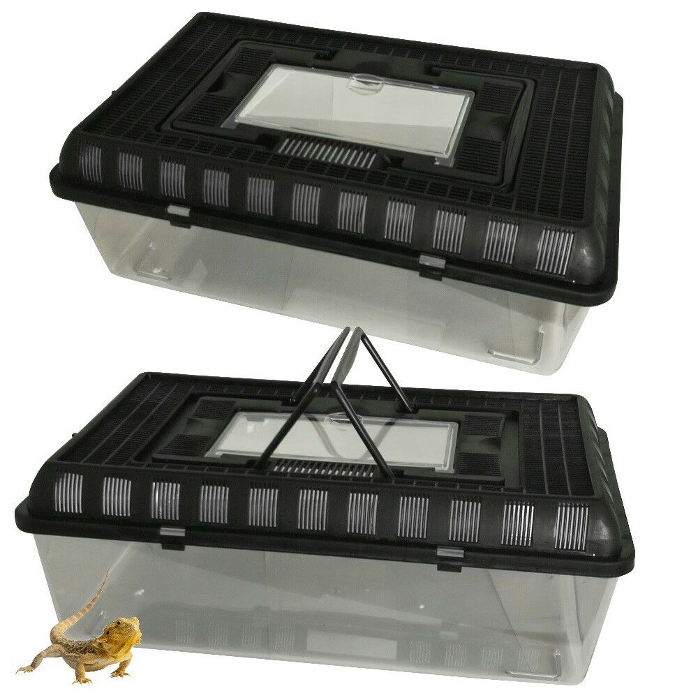 Large Insect Tank Breeding Box Reptiles Snakes Snakes Snakes Turtles Stackable Terrarium Frogs b39215
