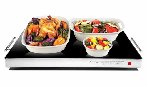 Chefman Electric Warming Tray with Adjustable Temperature Control Perfect For...