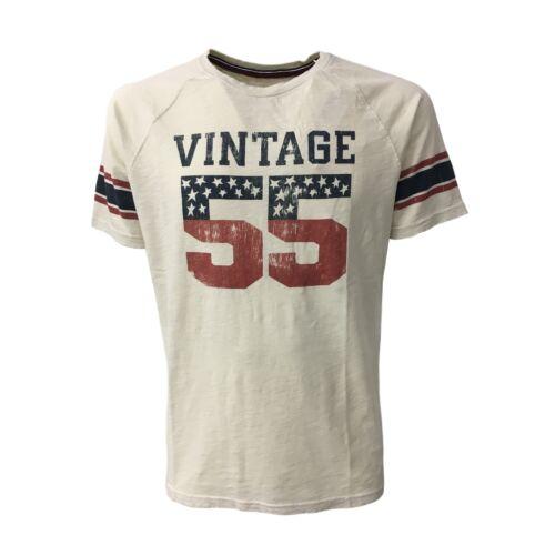 Hommecru T shirt Mod Vintage 55 Courtes Manches nPUWxZxpOv