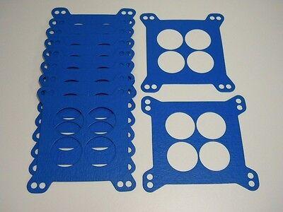 Holley 4150 Carburetor Carb Base Gasket 10 PACK Edelbrock 4160 Blue Non Stick G6