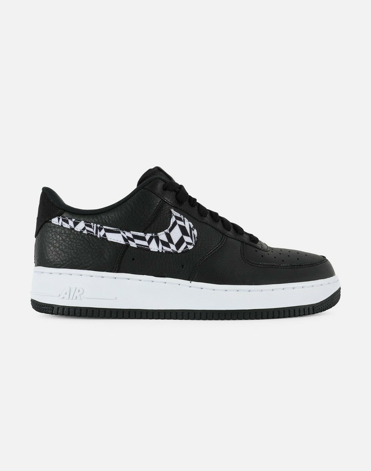 Nike Air Force 1 AOP Premium AQ4131 AQ4131 AQ4131 001 Black White Men SZ 7.5 - 13 189d1d
